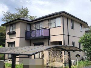 栃木県鹿沼市 K様邸 屋根塗装・外壁塗装工事