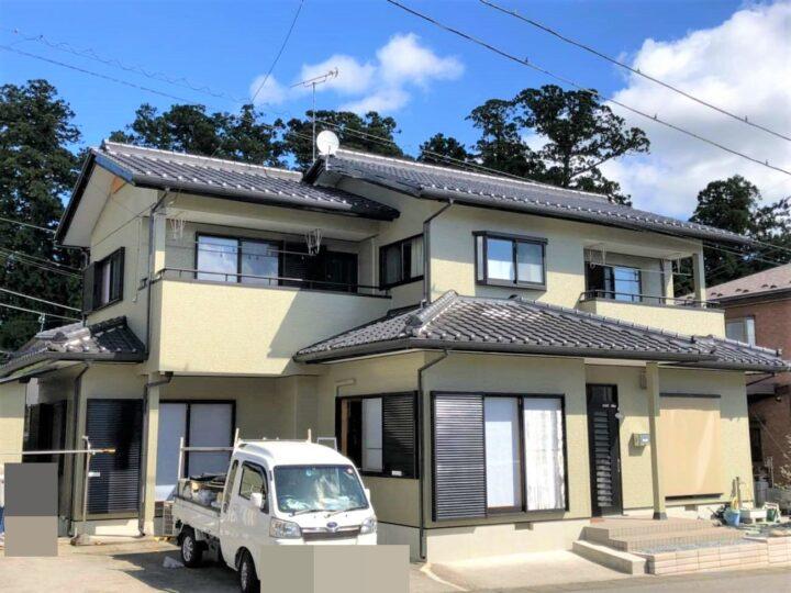 栃木県日光市 屋根塗装・外壁塗装工事