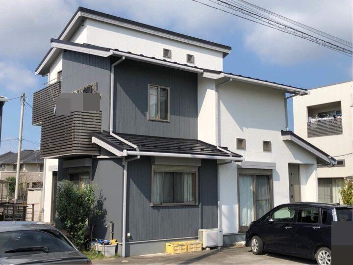 栃木県宇都宮市 H様邸 外壁塗装工事